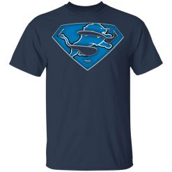 We Are Undefeatable The Detroit Lions x Superman NFL Youth T-Shirt