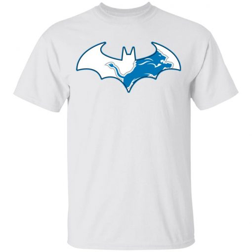 We Are The Detroit Lions Batman NFL Mashup Youth T-Shirt