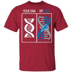 My DNA Is The Detroit Lions Football NFL Youth T-Shirt