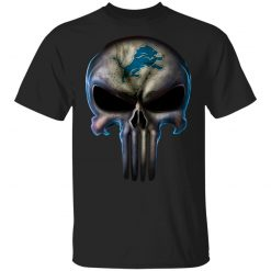 Detroit Lions The Punisher Mashup Football Youth T-Shirt