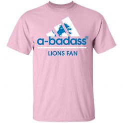 A-Badass Detroit Lions Mashup Adidas NFL Youth T-Shirt