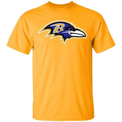 Baltimore Ravens NFL Pro Line by Fanatics Branded Gray Victory Men T-Shirt