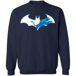 We Are The Detroit Lions Batman NFL Mashup Sweatshirt