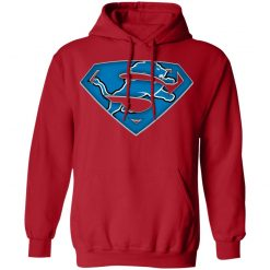 We Are Undefeatable The Detroit Lions x Superman NFL Hoodie