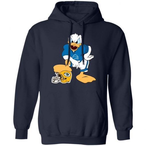 You Cannot Win Against The Donald Detroit Lions NFL Hoodie