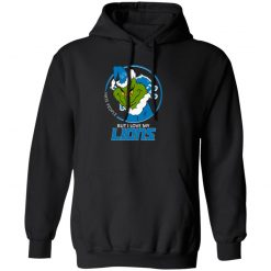 I Hate People But I Love My Detroit Lions Grinch NFL Hoodie