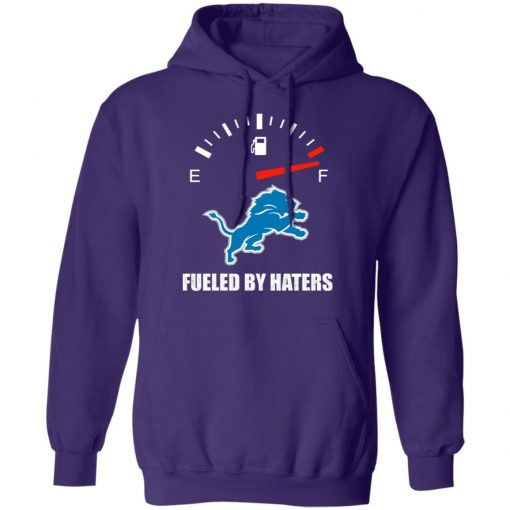 Fueled By Haters Maximum Fuel Detroit Lions Hoodie