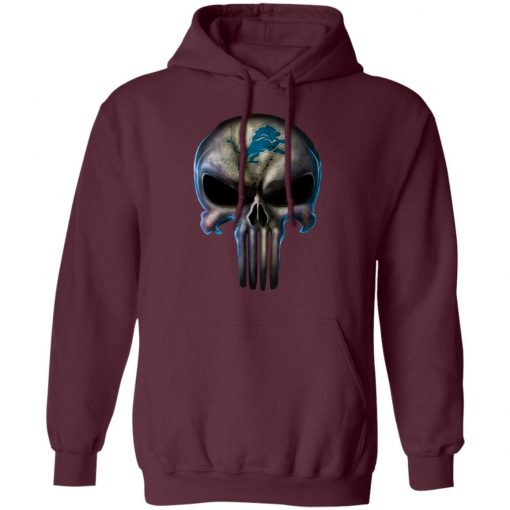 Detroit Lions The Punisher Mashup Football Hoodie