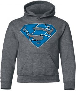 We Are Undefeatable The Detroit Lions x Superman NFL Youth Hoodie