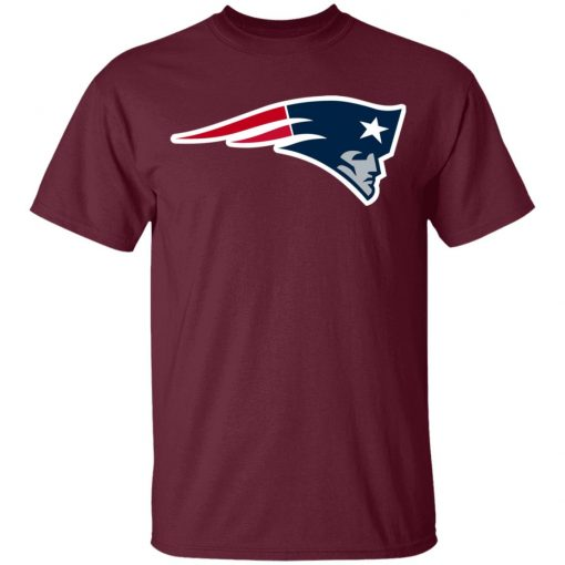 New England Patriots NFL Pro Line Black Team Lockup Youth T-Shirt