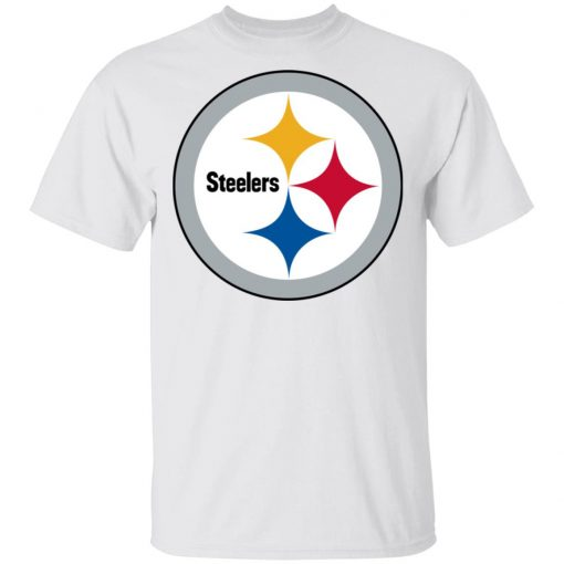Pittsburgh Steelers NFL Pro Line Gray Victory Men T-Shirt