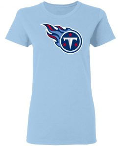 Tennessee Titans NFL Pro Line by Fanatics Branded Light Blue Women T-Shirt
