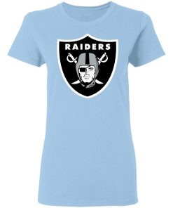 Oakland Raiders NFL Line by Fanatics Branded Black Victory Women T-Shirt