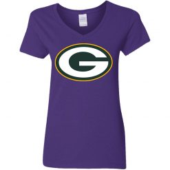Green Bay Packers NFL Pro Line by Fanatics Branded Gold Victory Women V-Neck T-Shirt