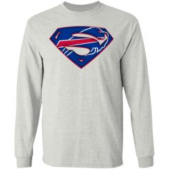 We Are Undefeatable The Buffalo Bills x Superman NFL LS T-Shirt