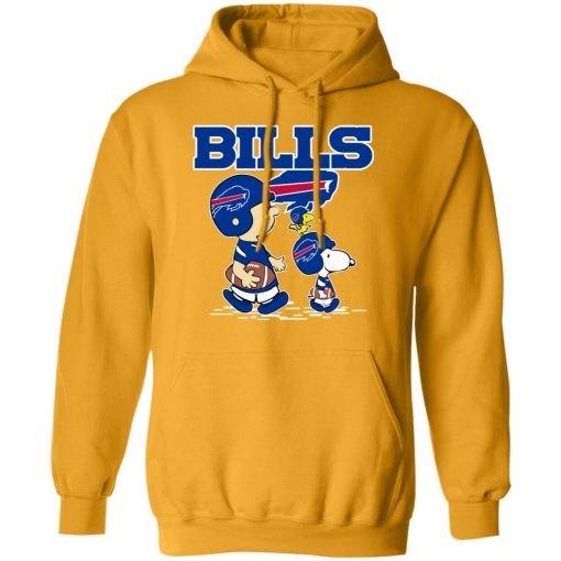 Buffalo Bills Let's Play Football Together Snoopy NFL Hoodie