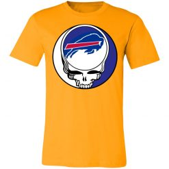 NFL Team Buffalo Bills x Grateful Dead Logo Band Unisex Jersey Tee