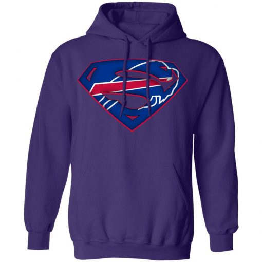 We Are Undefeatable The Buffalo Bills x Superman NFL Hoodie