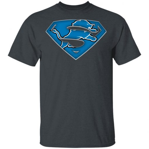 We Are Undefeatable The Detroit Lions x Superman NFL Men's T-Shirt