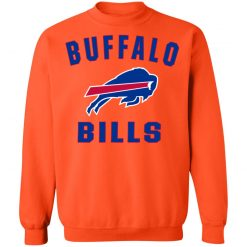 Buffalo Bills NFL Pro Line Gray Victory Arch Sweatshirt
