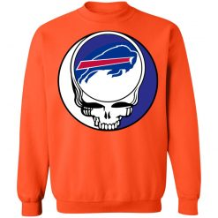 NFL Team Buffalo Bills x Grateful Dead Logo Band Sweatshirt