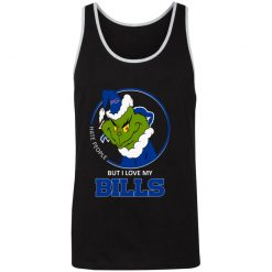 I Hate People But I Love My Buffalo Bills Grinch NFL Unisex Tank