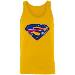 We Are Undefeatable The Buffalo Bills x Superman NFL Unisex Tank