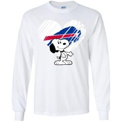 Snoopy Minnesota Vikings Youth LS T-Shirt