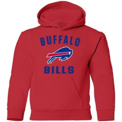 Buffalo Bills NFL Pro Line Gray Victory Arch Youth Hoodie