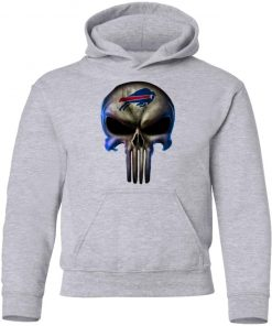 Buffalo Bills The Punisher Mashup Football Youth Hoodie