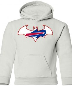 We Are The Buffalo Bills Batman NFL Mashup Youth Hoodie