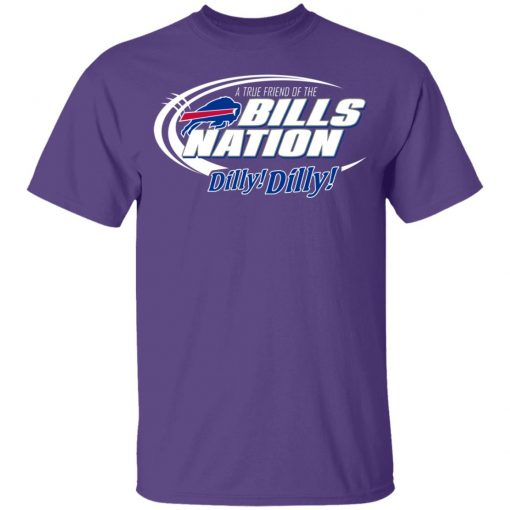 A True Friend Of The Bills Nation Youth T-Shirt