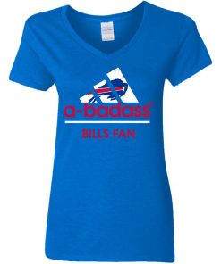 A-Badass Buffalo Bills Mashup Adidas NFL V-Neck T-Shirt
