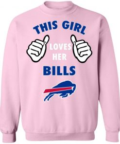 This Girl Loves Buffalo Bills Sweatshirt