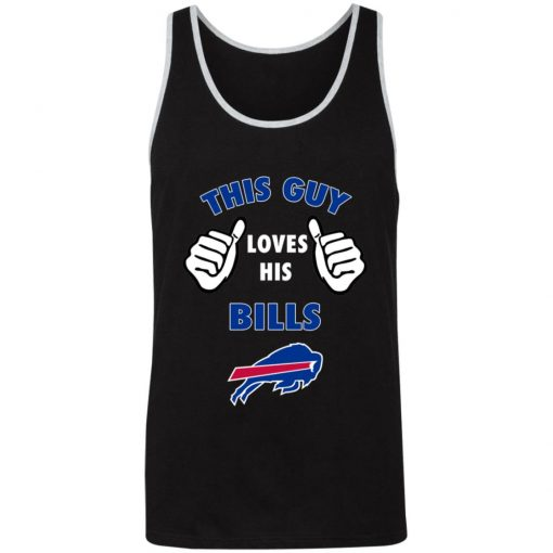 This Guy Loves Buffalo Bills 3480 Unisex Tank