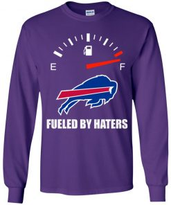 Fueled By Haters Maximum Fuel Buffalo Bills Youth LS T-Shirt