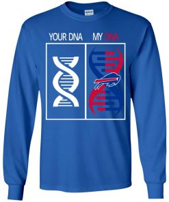My DNA Is The Buffalo Bills Football NFL Youth LS T-Shirt