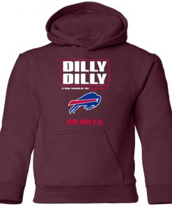 Dilly Dilly A True Friend Of The BUFFALO BILLS Youth Hoodie