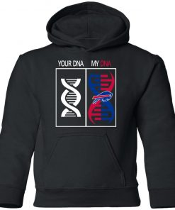 My DNA Is The Buffalo Bills Football NFL Youth Hoodie