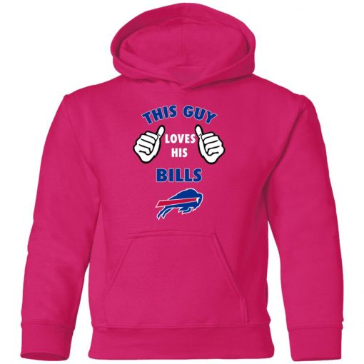 This Guy Loves Buffalo Bills Youth Hoodie