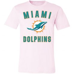 Miami Dolphins NFL Pro Line by Fanatics Branded Aqua Vintage Victory Unisex Jersey Tee