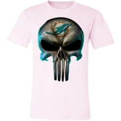 Miami Dolphins The Punisher Mashup Football Unisex Jersey Tee