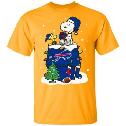 A Happy Christmas With New York Giants Snoopy Youth's T-Shirt