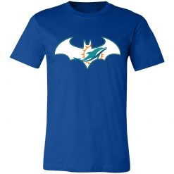 We Are The Miami Dolphins Batman NFL Mashup Unisex Jersey Tee