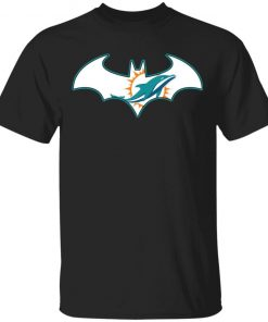 We Are The Miami Dolphins Batman NFL Mashup Men's T-Shirt