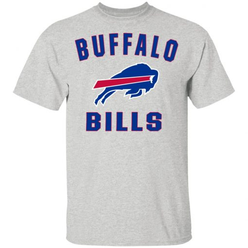 Buffalo Bills NFL Pro Line Gray Victory Arch Youth's T-Shirt