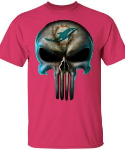 Miami Dolphins The Punisher Mashup Football Youth's T-Shirt
