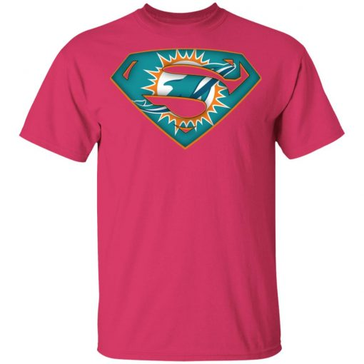 We Are Undefeatable The Miami Dolphins x Superman NFL Youth's T-Shirt