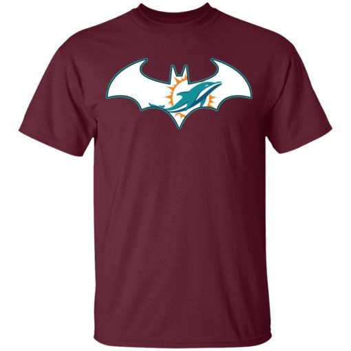 We Are The Miami Dolphins Batman NFL Mashup Youth's T-Shirt