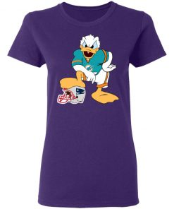 You Cannot Win Against The Donald Miami Dolphins NFL Women's T-Shirt
